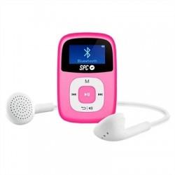 """SPC Mp3 8GB 8668P Bluetooth FM Pantalla de 1"""" Rosa"""