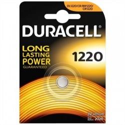 Duracell Pila Botón Litio CR1220 3V Blister*1