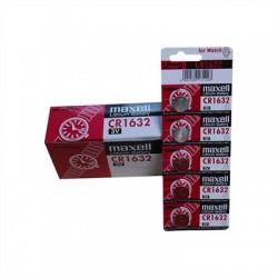 Maxell  Pila Botón Litio CR1632 3V Blister*5