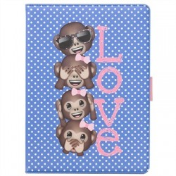 "Emoji By EJDN Funda Tablet 10.1"" Love Blue"