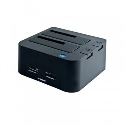 B-Move BM-HDF01 Dock Station Doble Bahía HDD