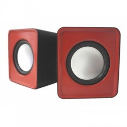 approx! APPSPX1R Mini Altavoces 2.0 Usb 5W Rojo