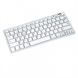 iggual LITTLE Teclado mini BlueTooth 3.0 Blanco