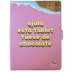 "Tan Tan Fan Funda Tablet 10"" Vecina Rubia Chocolat"
