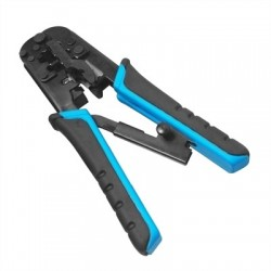 WP Crimping Tool for RJ11, RJ12 and RJ45/ Ratchet