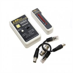 WP Cable Tester for UTP/STP RJ45, RJ11/RJ12