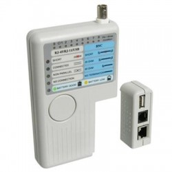 WP Cable Tester RJ11/12/45 BNC and USB