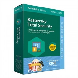 Kaspersky Total Security MD 3L/1A+Entrada Cine EE