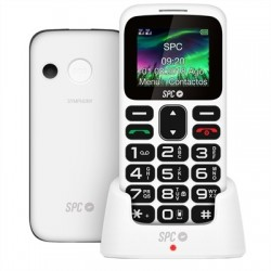 SPC Symphony 2 Telefono Movil BT FM + Dock Blanco