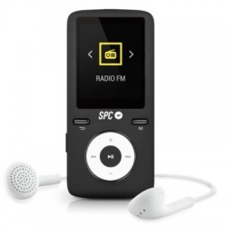 SPC Reproductor MP4+Radio 8488AD 8GB Negro/Gris
