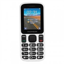 "THOMSON T12 Telefono Movil 1.77"" BT DualSim Blanco"