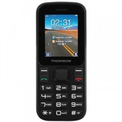 "THOMSON T12 Telefono Movil 1.77"" BT DualSim Negro"
