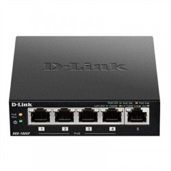 D-Link DGS-1005P Switch 5xGB 4xPoE