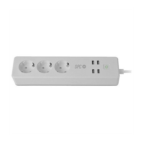 SPC Regleta Inteligente CLEVER POWER STRIP