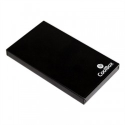 "CoolBox Caja HDD 2.5"" SLIMCHASE 2502 USB2.0"