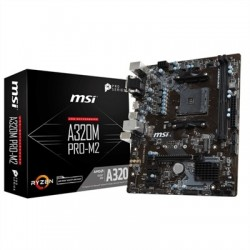 MSI Placa Base A320M PRO-M2 mATX AM4