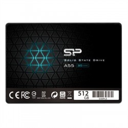 "SP A55 SSD 512GB 2.5"" 7mm Sata3"