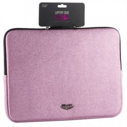 "Chic&Love Funda Portatil 15.6"" Purpurina Rosa"
