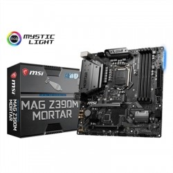 MSI Placa Base MAG Z390M MORTAR mATX LGA1151