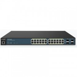 ENGENIUS EWS7928P Switch 24xGB PoE+ 4xSFP