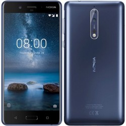 "Nokia 8 TA-1004 5.3"" HD OCT2.5GHz 64GB Azul"