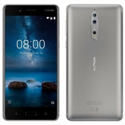 "Nokia 8 TA-1004 5.3"" HD OCT2.5GHz 64GB Acero"