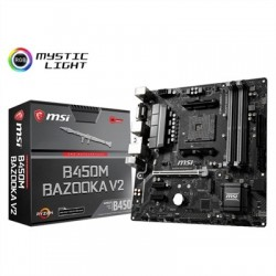 MSI Placa Base B450M BAZOOKA V2 mATX AM4