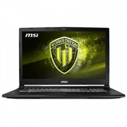 MSI WE63-495ES i7-8750H 16GB 256+1TB P1000 W10 15""