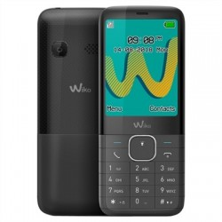 "Wiko Riff 3 Plus Telefono Movil 2.4"" QVGA BT Negro"