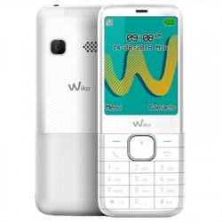 "Wiko Riff 3 Plus Telefono Movil 2.4"" QVGA BT Blanc"