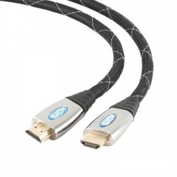 Gembird Cable HDMI 4K 3D (M)-(M)MalladoGold 1.8Mts