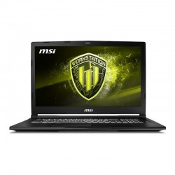 MSI WE63-240XES i7-8750 16GB 256+1TB P1000 DOS 15""