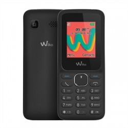 "Wiko Lubi5 Plus Telefono Movil 1.8"" QVGA BT Negro"