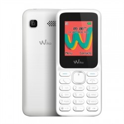 "Wiko Lubi5 Plus Telefono Movil 1.8"" QVGA BT Blanco"