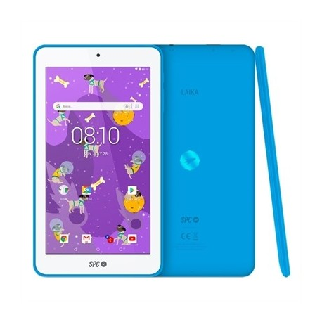 "SPC Tablet 7"" QC Laika 1GB RAM 8GB Interna Azul"