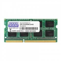 Goodram 4GB DDR3 1600MHz CL11 1,35V SR SODIMM