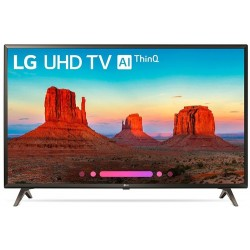 "Televisor LG 43"" 43UK6200PLB - UHD 4K, Smart TV ThinQ AI TV, HLG - HDR10 Pro, Ultra Surround"