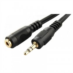 Gembird Cable Extension 3.5mm(M) a 3.5mm(H) 5 Mts