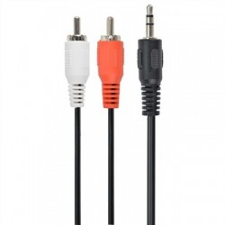 Gembird Cable Audio MJACK RCA M/M 5 Mts