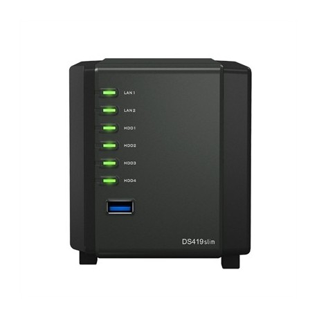 SYNOLOGY DS419slim NAS 4Bay Disk Station