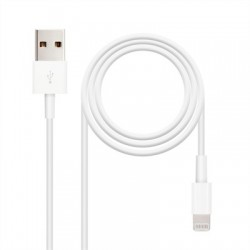 Cable de datos/carga LIGHTNING/USB 2 metro