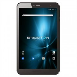 "Brimgton Tablet 8"" IPS HD QC BTPC801 Negro+funda"