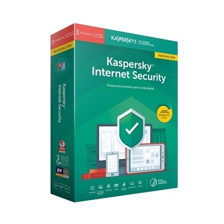 Kaspersky Internet Security MD 2020 3L/1A RN