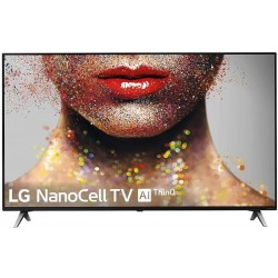TV 4K LG 55SM8500PLA - NanoCell, Alpha 7, 100% HDR, Smart TV AI ThinQ, Dolby Atmos/Vision
