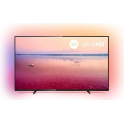 "TV 4K Philips 50"" 50PUS6704/12 - UHD, Smart TV Saphi, Ambilight, HDR10+, Dolby Vision/Atmos"