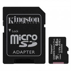 Kingston SDCS2/64GB micro SD XC clase 10 64GB c/a