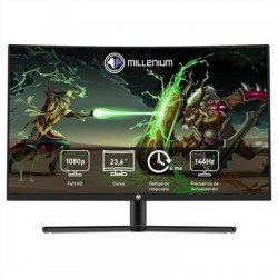 """Millenium MD24PRO Monitor 23.8"""" FHD144H HDMI DP AA"""