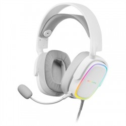 Mars Gaming MHAXW WHITE rgb headphones