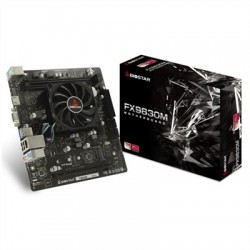 Biostar Placa Base FX9830M mATX CPU integrada