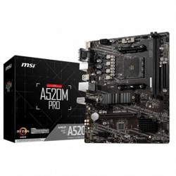 MSI Placa Base A520M PRO mATX AM4